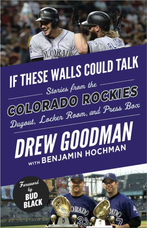 Book Cover of If These Walls Could Talk by Drew Goodman